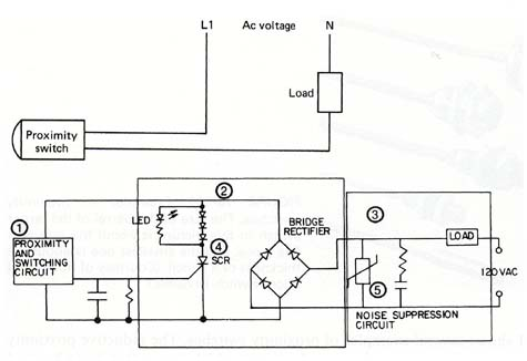 Proximity Switches - Repair Wiring Scheme