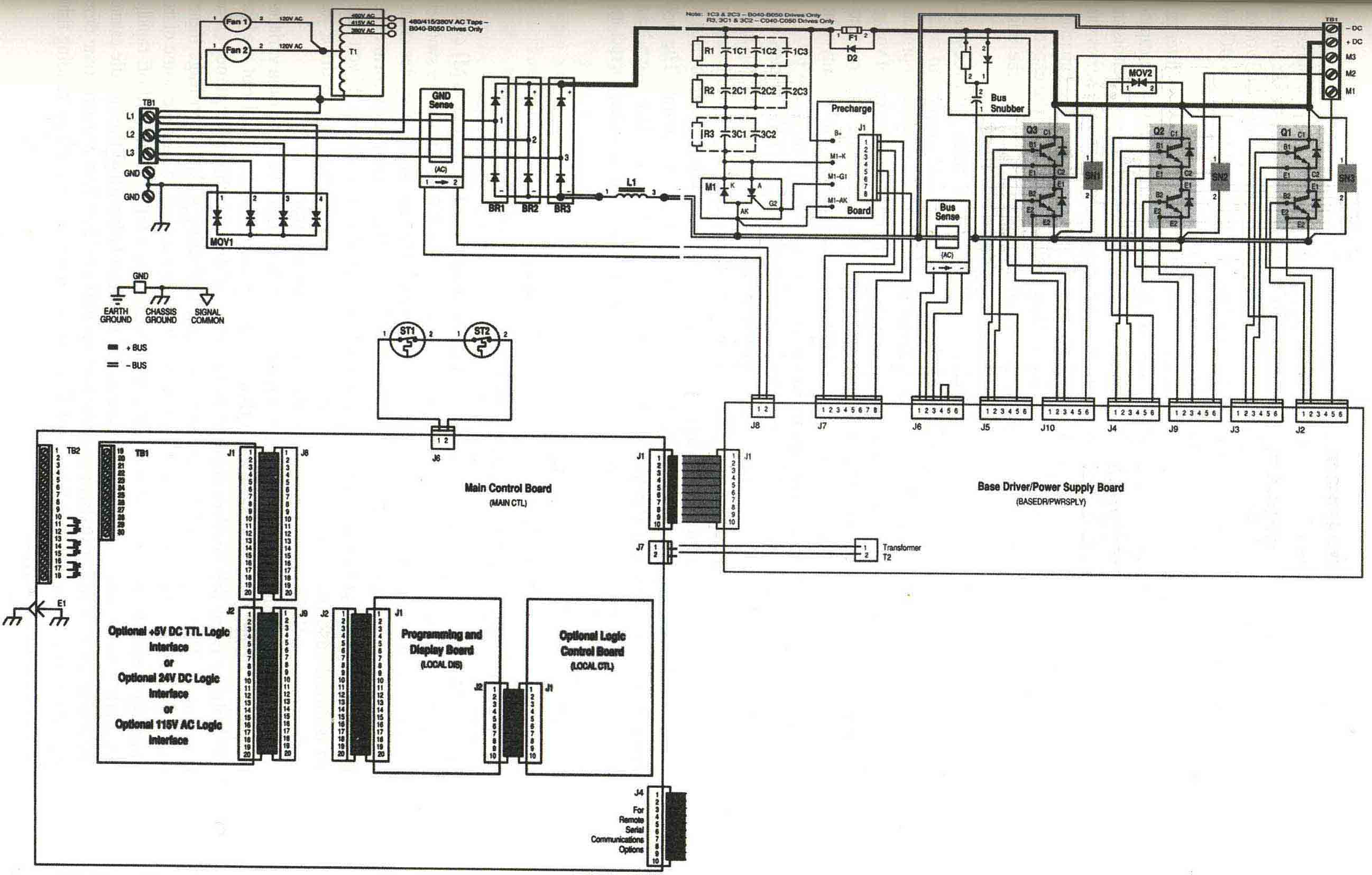 Allen Bradley 1336 schematic solid state circuits for variable frequency drives vfd control wiring diagram at soozxer.org