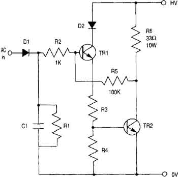 Stepper Motor  lifier Circuits on threshold schematic circuit diagram