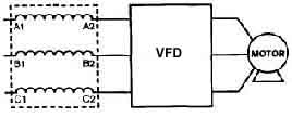 AC Drives: Line & Load Reactors: Can They Improve the ... on line reactor allen bradley, line driver wiring diagram, simple electric generator diagram, load reactor wiring diagram, single-line diagram, line and load wiring diagram,