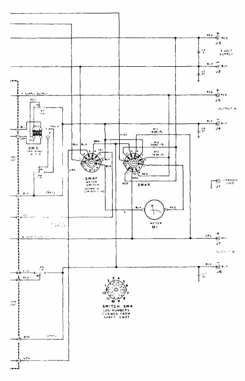 Drafting for electronics schematic diagrams fig 24 inset diagram showing lug numbers and switch orientation biocorpaavc