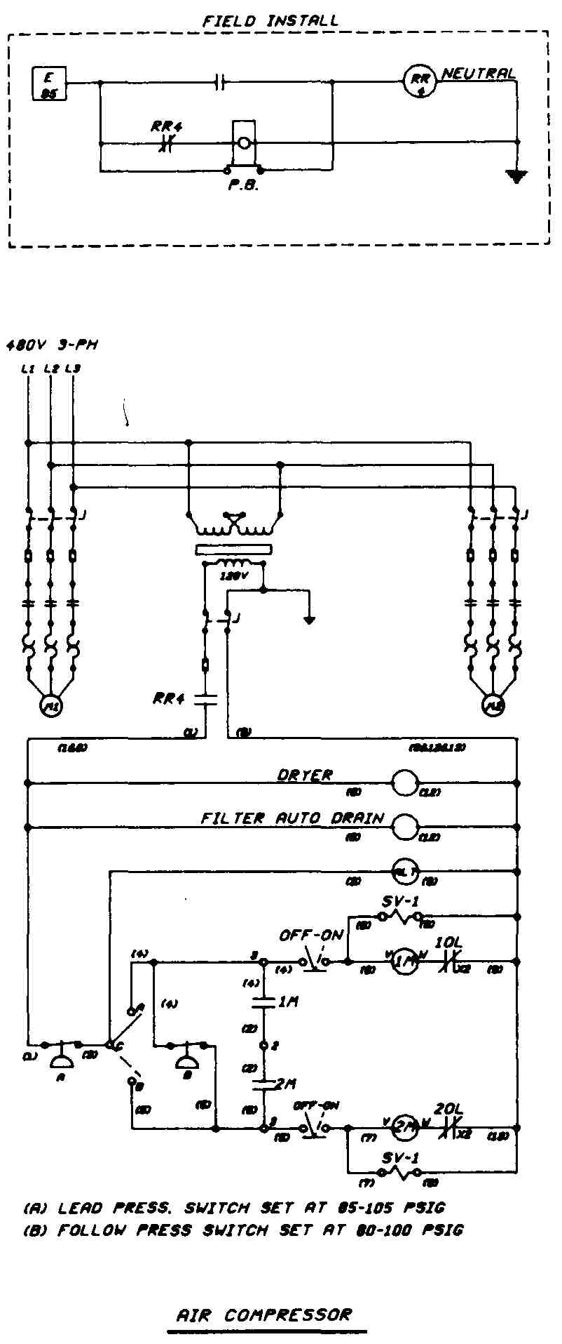 Drafting for electronics motors and control circuits part 2 fig 29 connections indicated with a dot when wires simply cross over there is no dot indicating no connection pooptronica Image collections