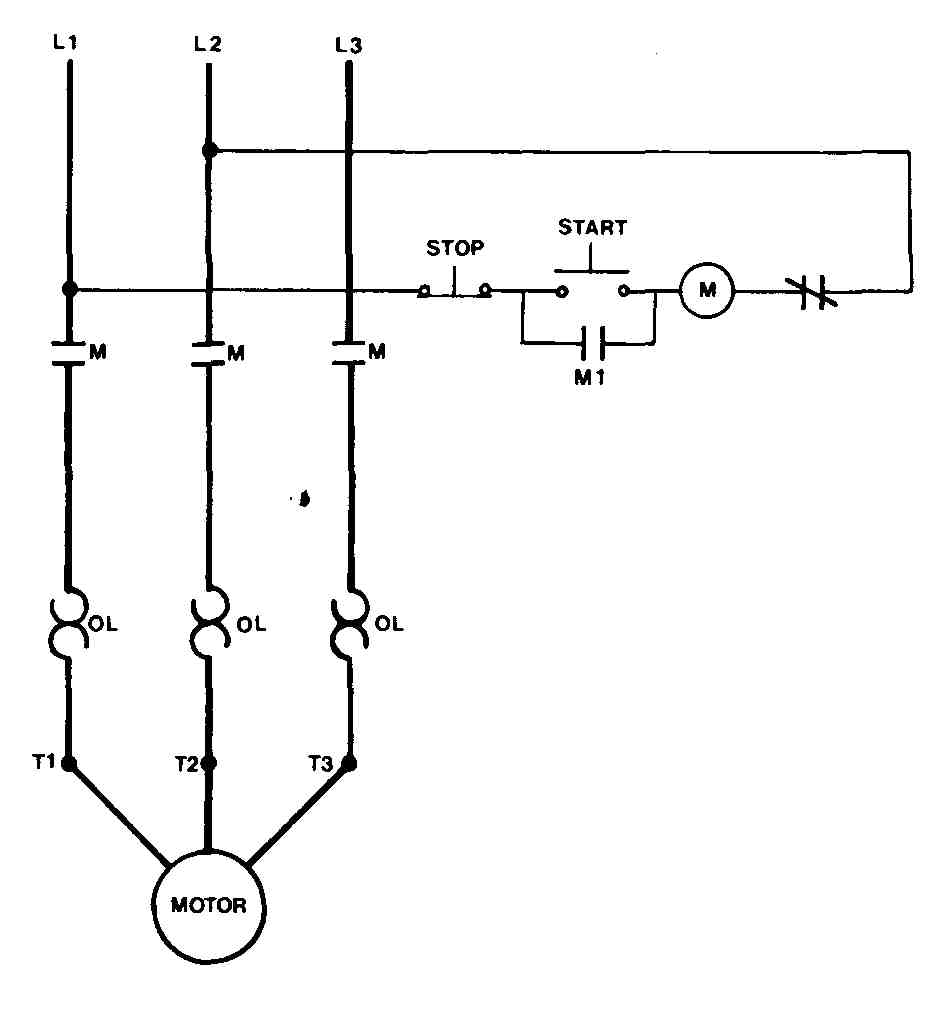 Motor Control Ladder Diagrams Wiring Symbols Diagram