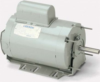 LEESON fan and blower duty motors are designed for dependable, energy saving performance in applications where the fan is mounted on the shaft of the motor. The permanent split capacitor design does not require a centrifugal switch, resulting in higher reliability than on other types of single phase motors. This design is also more energy efficient and less expensive to operate. These motors may be operated at listed speed or two speed operation may be achieved by using the proper auxiliary switch. They are suitable for variable speed by adjusting the voltage to the motor using a variable voltage control.
