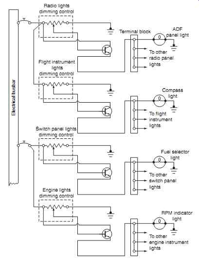 Aircraft Schematic Ac Lamp Auto Electrical Wiring Diagram