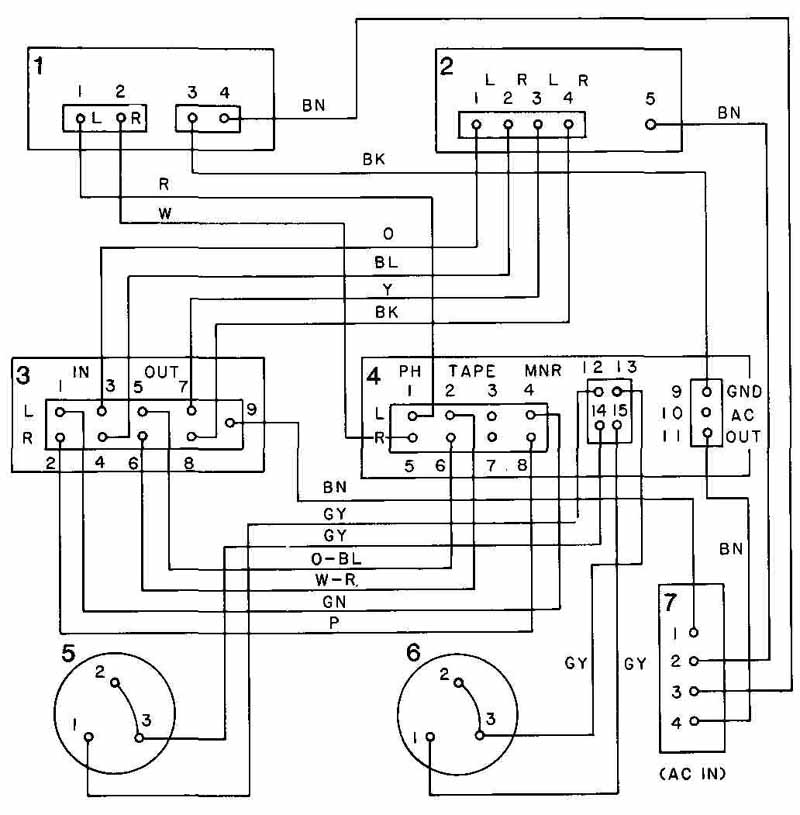 point to wiring diagram