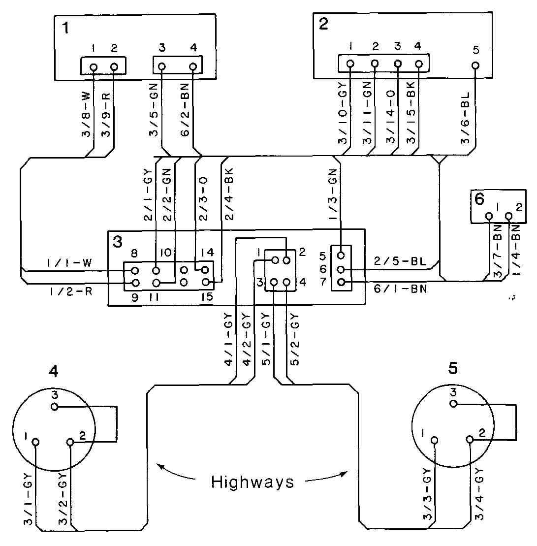eed5th_4 6 wiring, cabling, and chassis drawings (part 1) highway 22 wiring diagram at bayanpartner.co