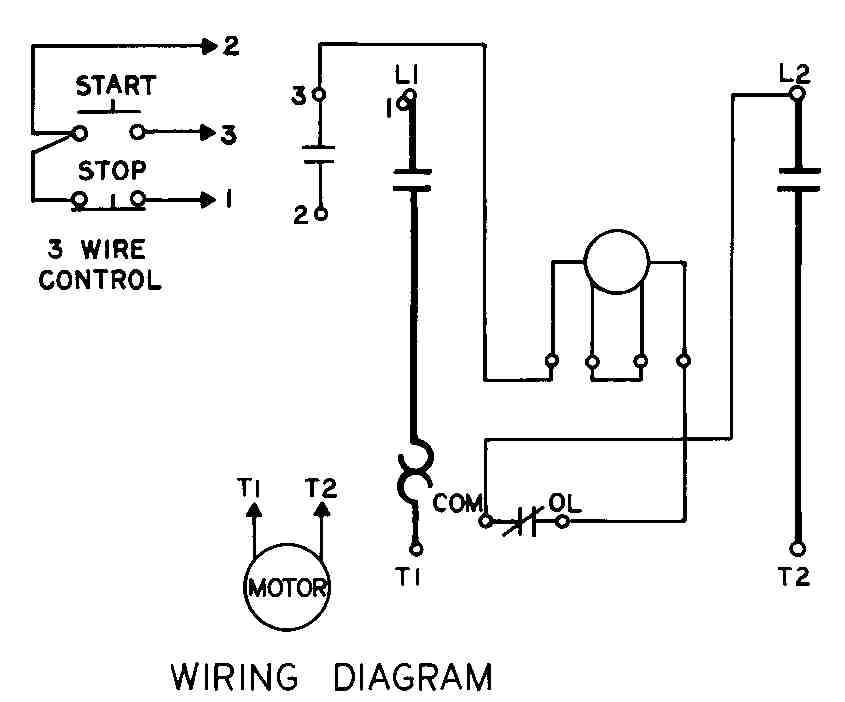 Hoa Wiring Diagram : Hoa wiring diagram single phase starter