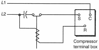 components for electric motors 10 1 starting relays for single rh industrial electronics com  ford starter motor relay wiring diagram
