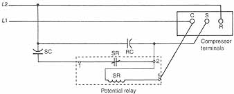 10 3 potential relays 10 4 solid state starting relays and devices rh industrial electronics com mars potential relay wiring diagram emerson potential relay wiring diagram