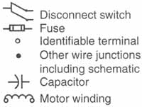 Elec Refridge A on Motor Overload Relay Wiring Diagrams