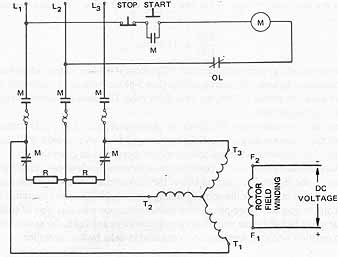 elec4_16 10 controllers for three phase motors synchronous motor wiring diagram at crackthecode.co