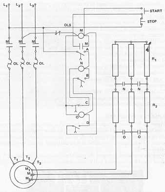 elec4_16 7 controllers for three phase motors slip ring motor starter wiring diagram at gsmx.co