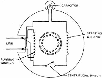 Centrifugal Switch Schematic on single phase motor with centrifugal switch wiring diagram