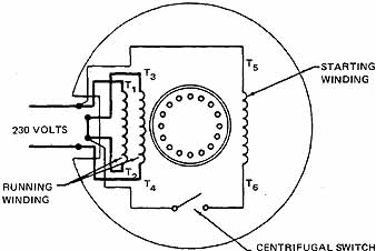 elec4_22 7 wiring diagram for 230 volt 1 phase motor the wiring diagram,Reversible Dayton 3 Wire 110 Volt Ac Motor Wiring Diagram
