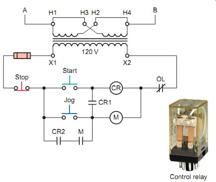 Start Stop Jog Wiring Diagram from www.industrial-electronics.com