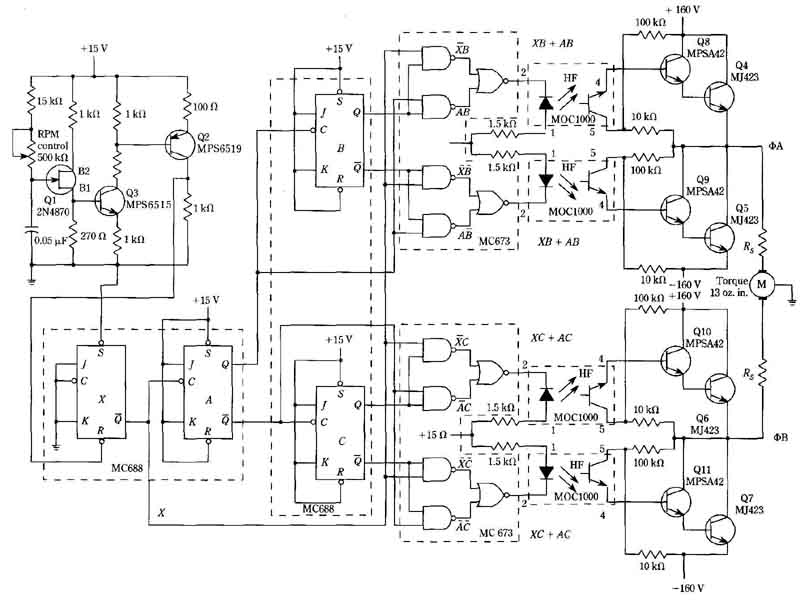 Logic Circuit Speed Controller For A Permanent Capacitor Split