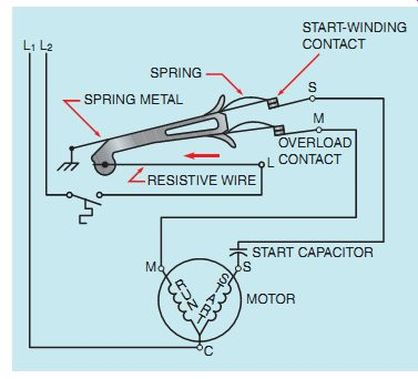 ep_2e_19 8 ac single phase motors (part 1) part winding start compressor wiring diagram at bakdesigns.co