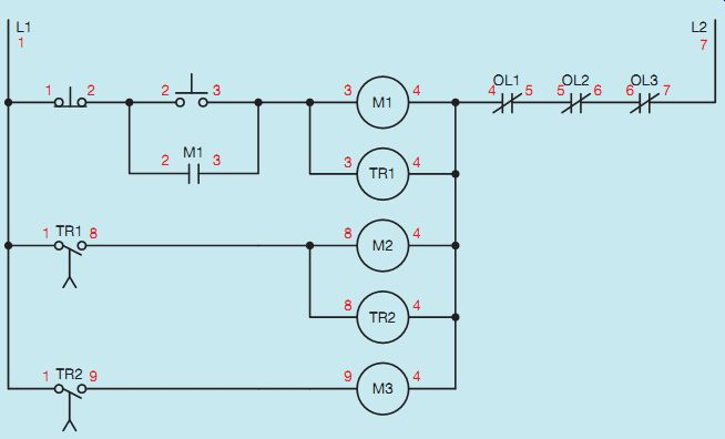 Developing a Wiring Diagram (Circuit #2) | Wirng Diagram Wiring 2 Schematics |  | Industrial Electronics