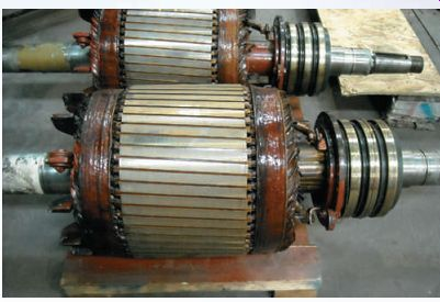 Industrial Motor Control Wound Rotor Induction Motors