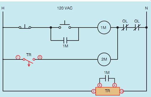 Industrial Motor Control Timing Relays
