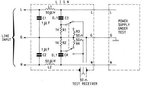 ELECTROMAGNETIC INTERFERENCE (EMI) IN SWITCHMODE POWER SUPPLIES on oscilloscope schematic, shielded cable schematic, spectrum analyzer schematic, line noise cable schematic, electronic load schematic,