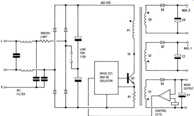 smps design theory practice multiple output flyback switchmode rh industrial electronics com