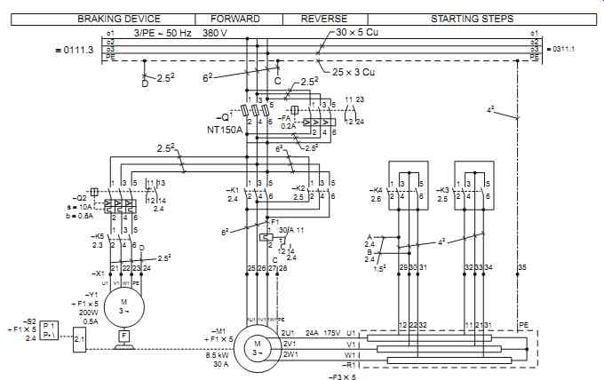 european motor wiring diagram single phase single phase