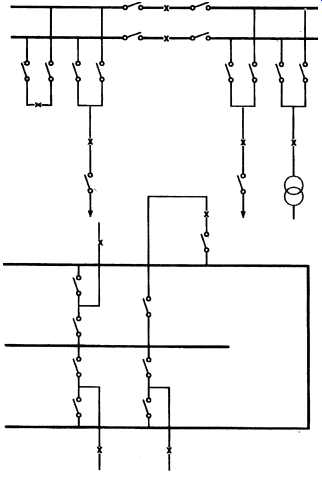 Substation layouts part 2 electrical transmission and distribution 10 duplicate busbar and wrap around arrangement ccuart Gallery