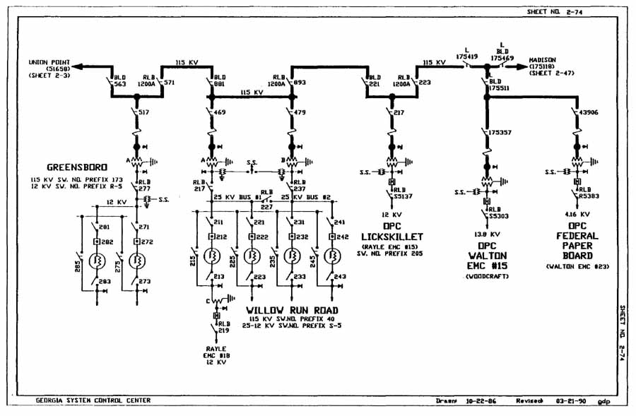 ga power transformer wiring diagram drafting for electronics power distribution  power distribution