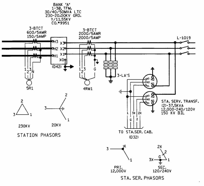 ga power transformer wiring diagram