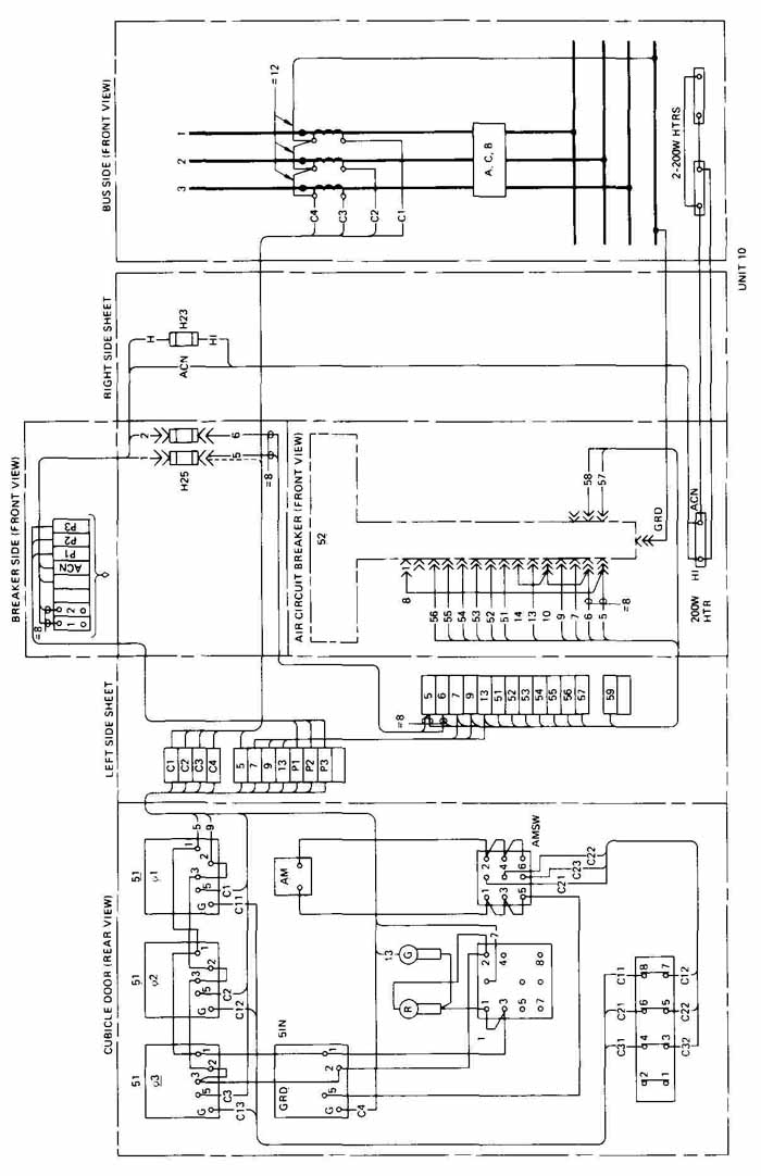 Wiring Diagram Of A Circuit Breaker : Abb air circuit breaker wiring diagram