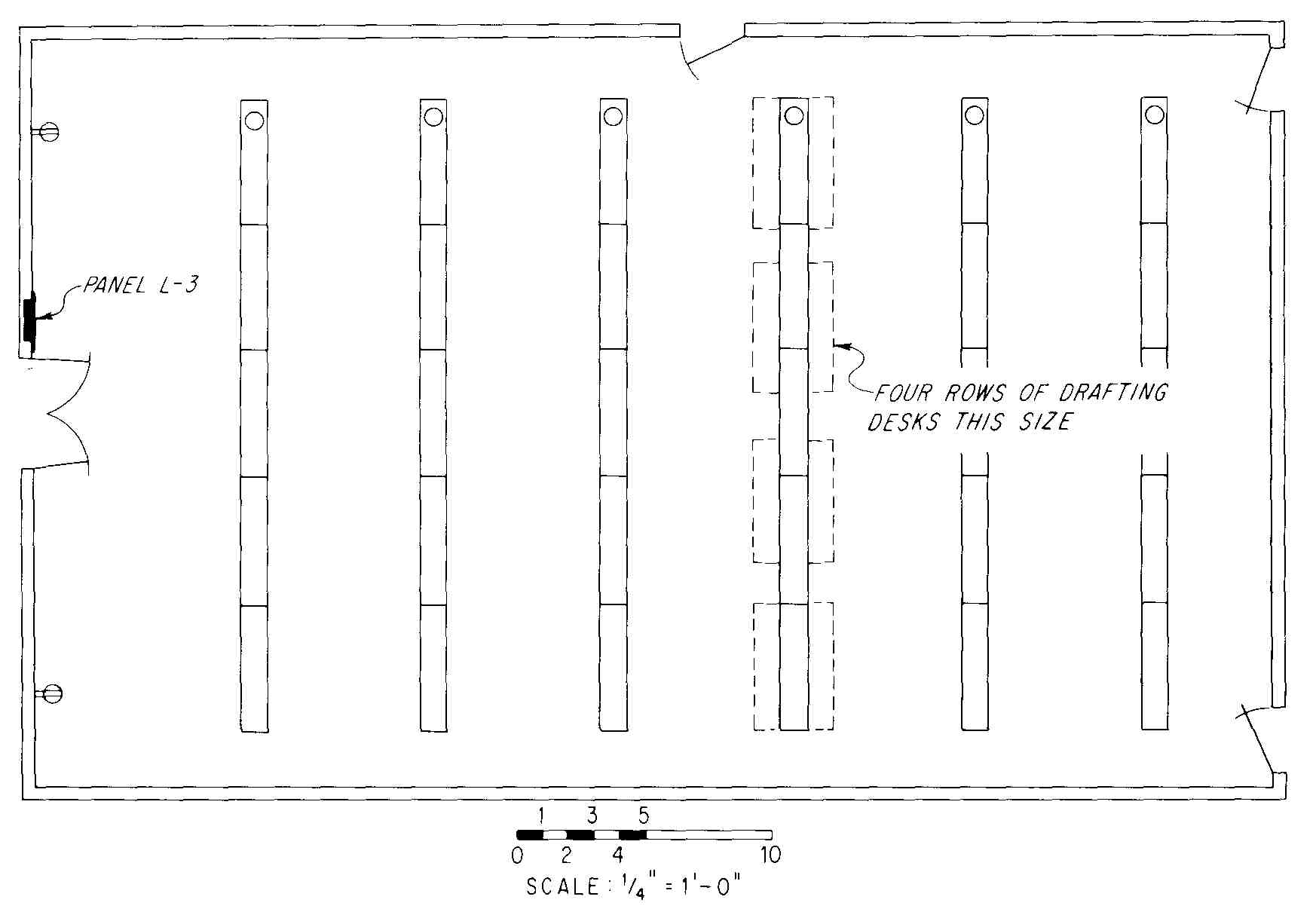 Electrical drawing for architectural plans for Blueprint number