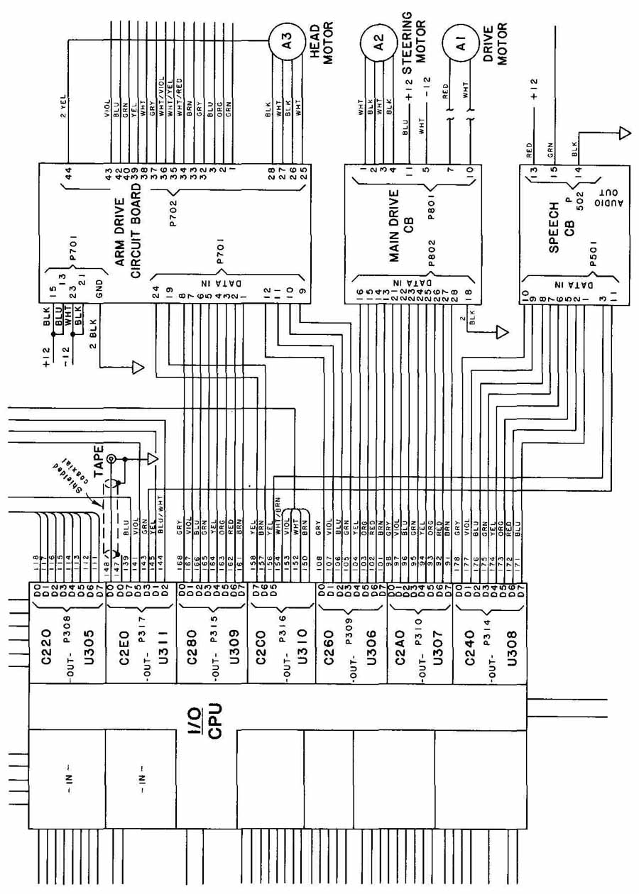 Wiring  Cabling  And Chassis Drawings  Part 1