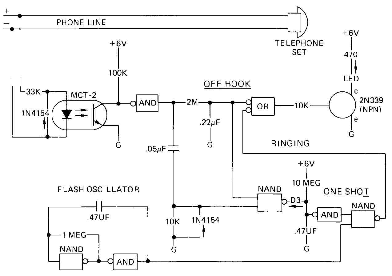 Electrical And Electronic Schematic Diagrams Part 2 Nand Gate Circuit Diagram On Dflip Flop