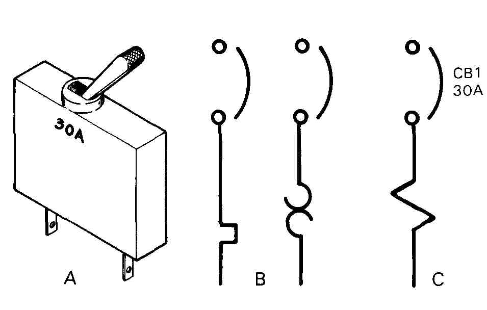 vacuum breaker drawing symbol
