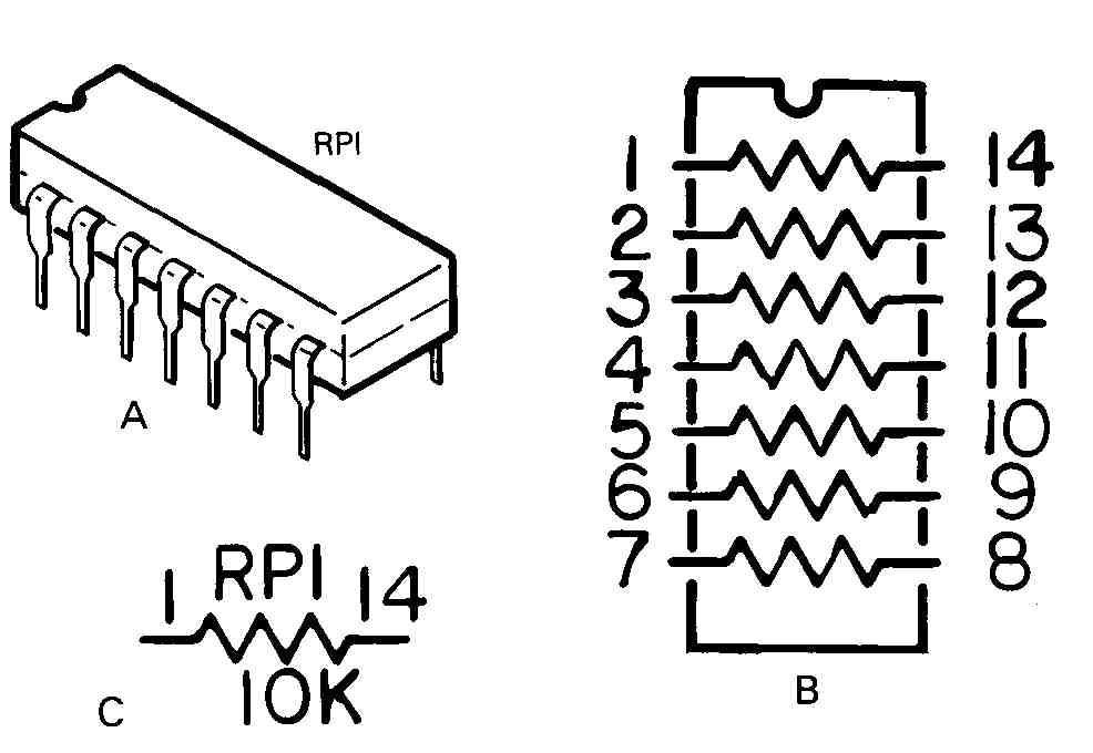 Resistor Color Code |Tapped Resistor Symbol