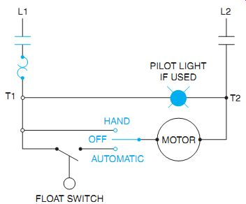 2 Pole Motor Starter On Off With Lights Wiring Diagram from www.industrial-electronics.com