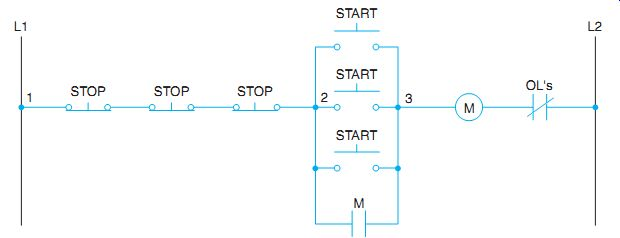 start stop stations wiring diagram for 2  wiring diagrams