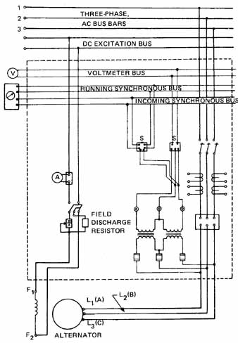 voltmeter wiring diagram for dc    wiring    for alternators     wiring    for alternators