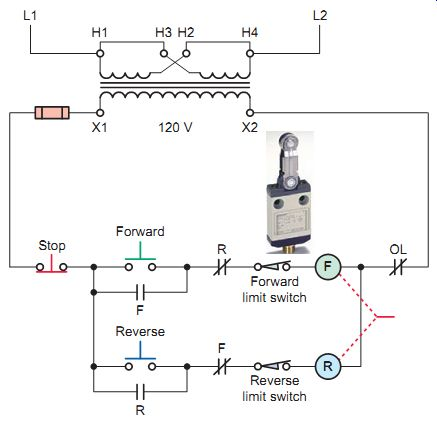 Limit Switch Wiring Diagram Motor from www.industrial-electronics.com