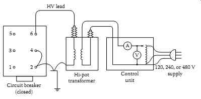 Epemt 7b moreover Transformer Connection Diagrams besides Voltage Boost Transformer Sche furthermore Wye 3 Phase Transformer Wiring Diagram together with How Is Using A Transformer For Isolation Safer Than Directly Connecting To The P. on grounded b phase wiring diagram