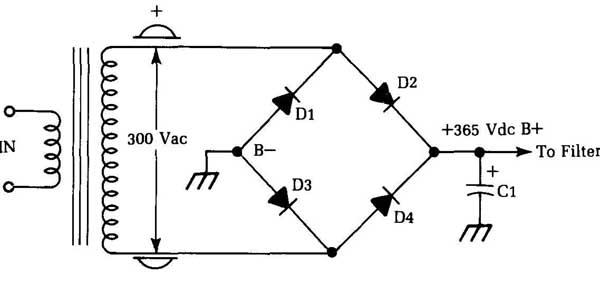 Silicon Bridge Full Wave Rectifier Testing Manual Guide